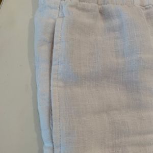 J. Jill Pants - J. JILL Love Linen Washable white pants L Large